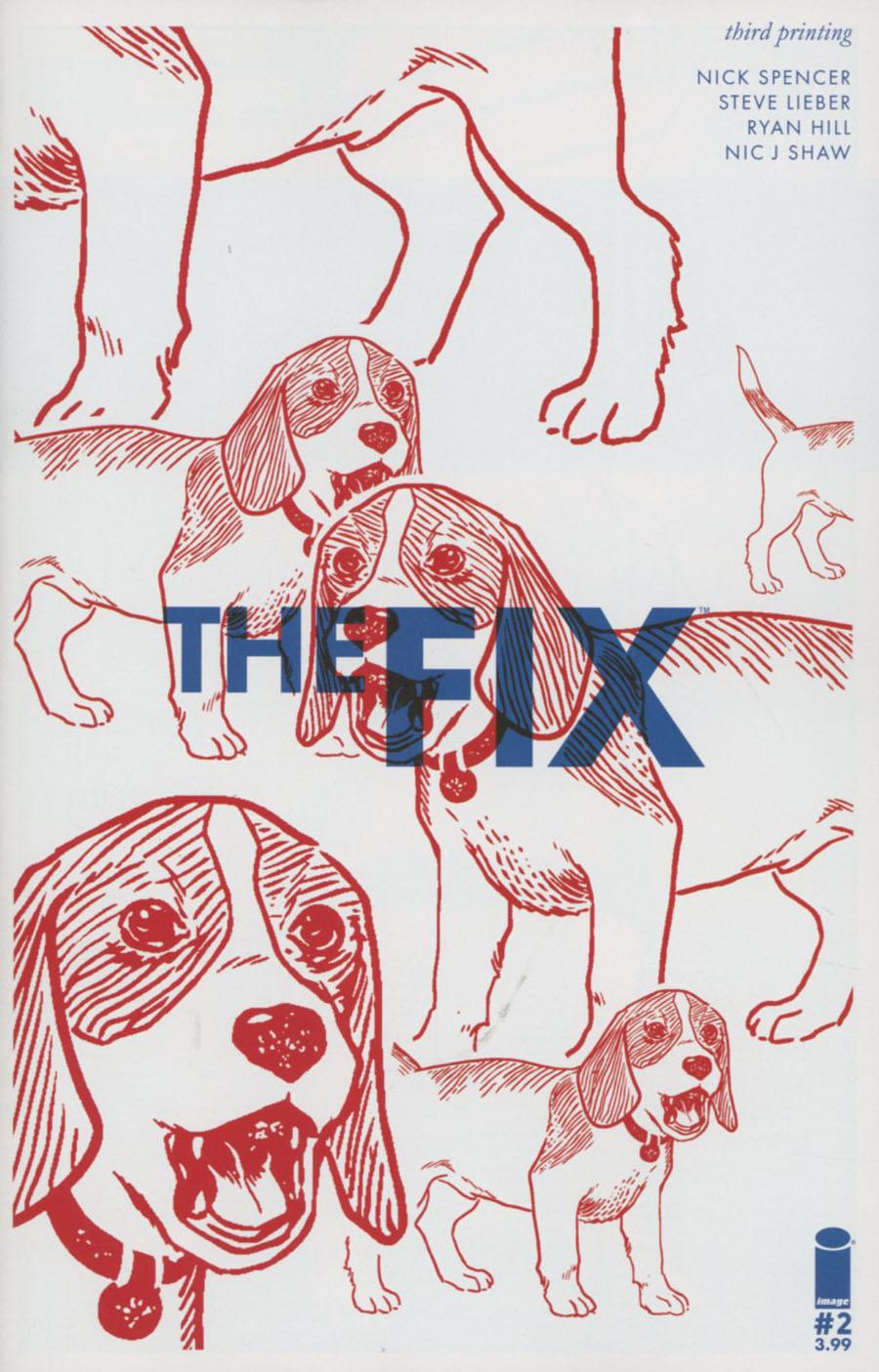 Fix #2 Cover C 3rd Ptg Steve Lieber Variant Cover