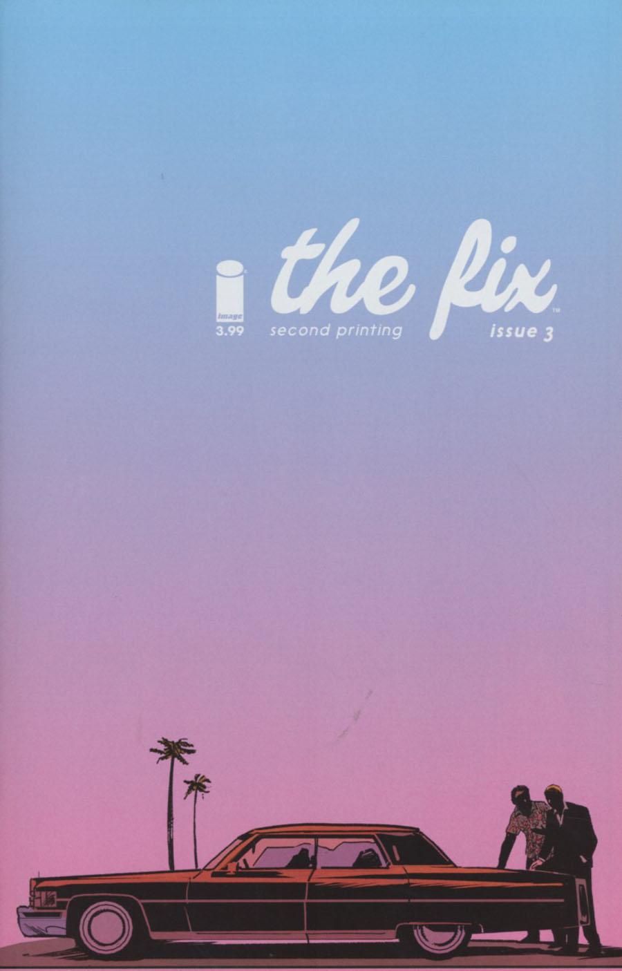 Fix #3 Cover B 2nd Ptg Steve Lieber Variant Cover