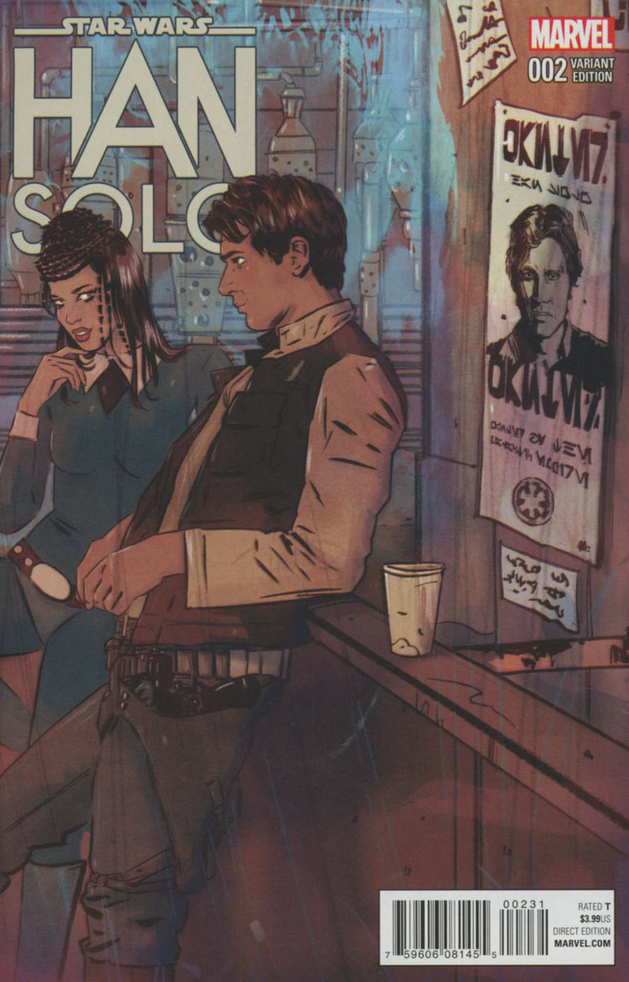 Star Wars Han Solo #2 Cover D Incentive Tula Lotay Variant Cover