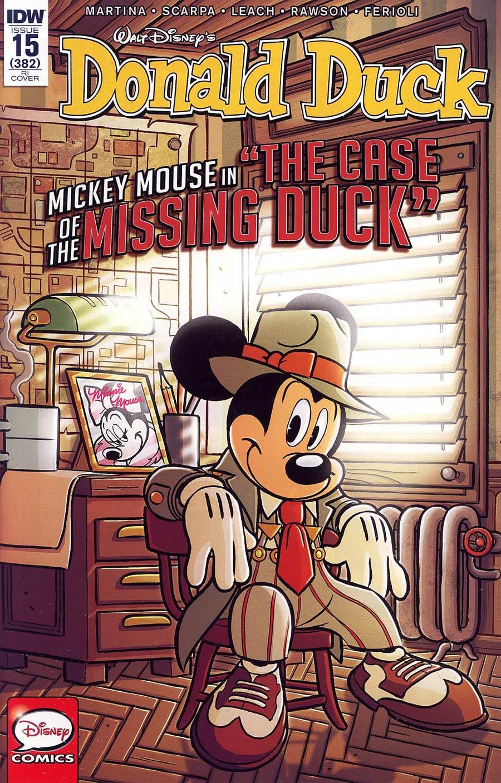 Donald Duck Vol 2 #15 Cover C Incentive Andrea Freccero Variant Cover