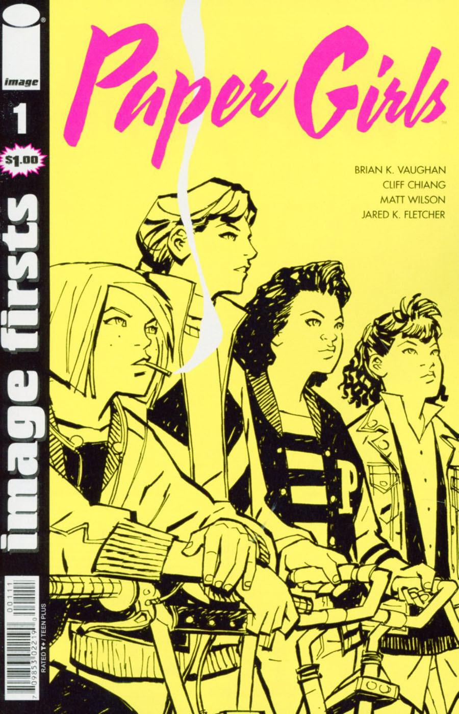 Image Firsts Paper Girls #1 Cover A Regular Cliff Chiang Cover