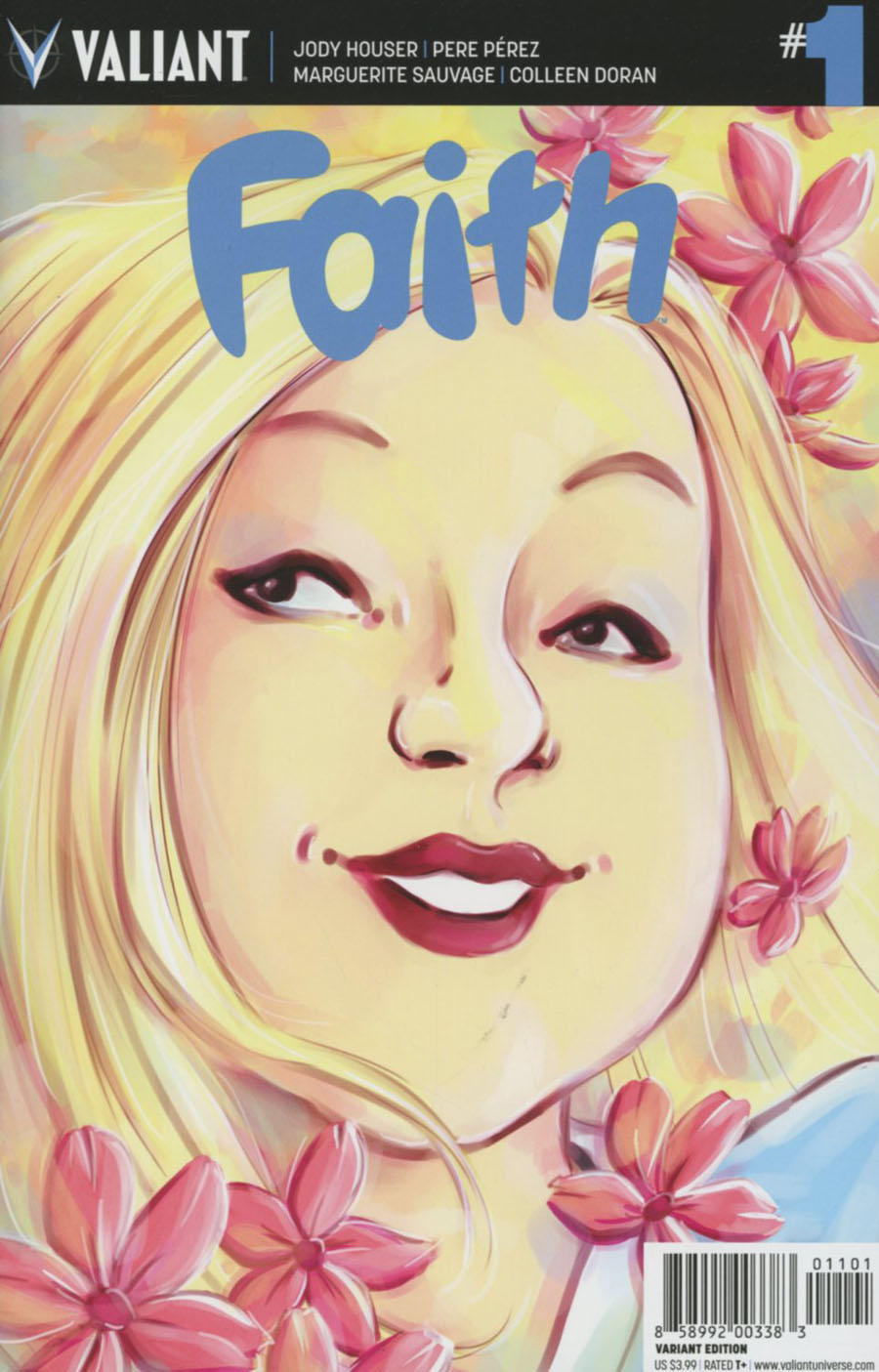 Faith (Valiant Entertainment) Vol 2 #1 Cover J Incentive Colleen Coover Variant Cover