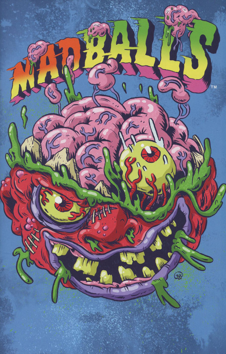 Mad Balls #4 Cover C Incentive Jimmy Giegerich Variant Cover
