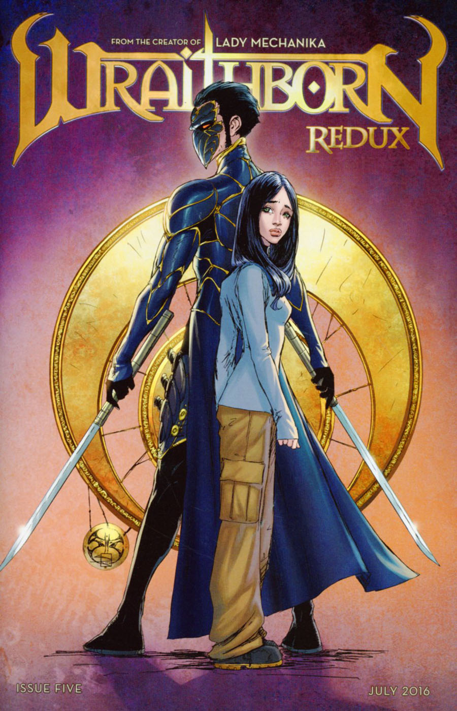 Wraithborn Redux #5 Cover A Regular Joe Benitez & Sabine Rich Cover