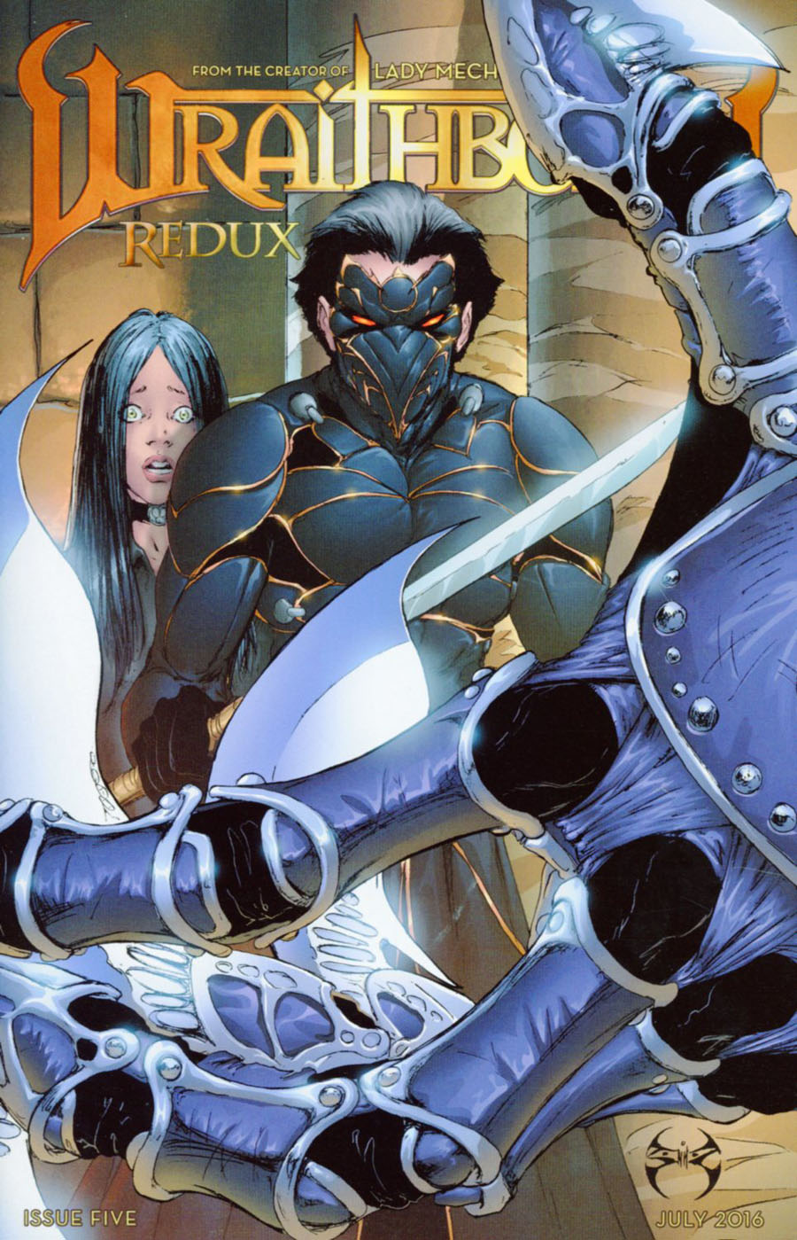 Wraithborn Redux #5 Cover B Regular Joe Benitez & Mike Garcia Cover