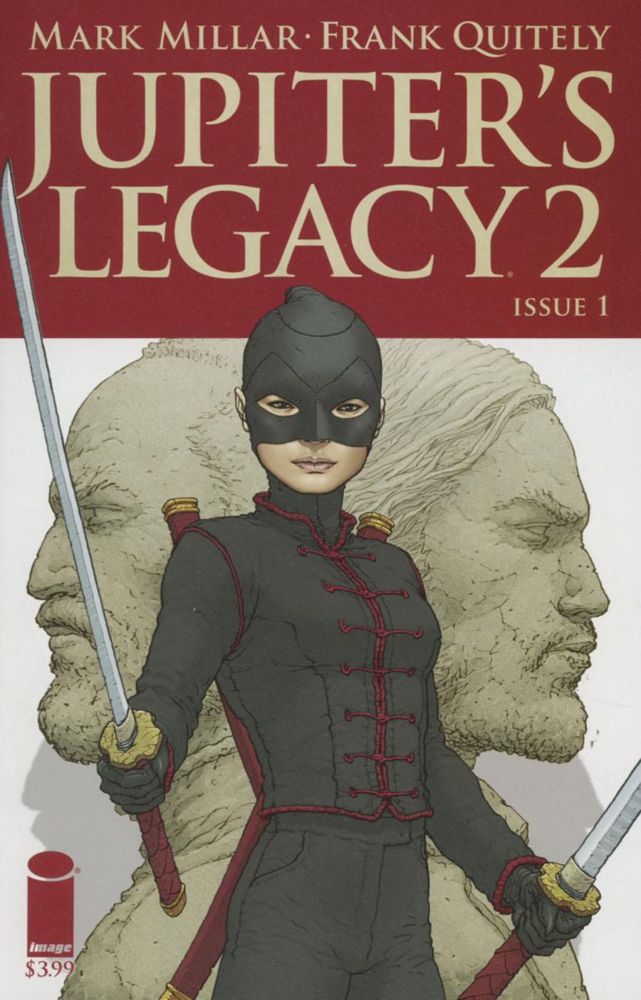 Jupiters Legacy Vol 2 #1 Cover I 2nd Ptg Frank Quitely Variant Cover