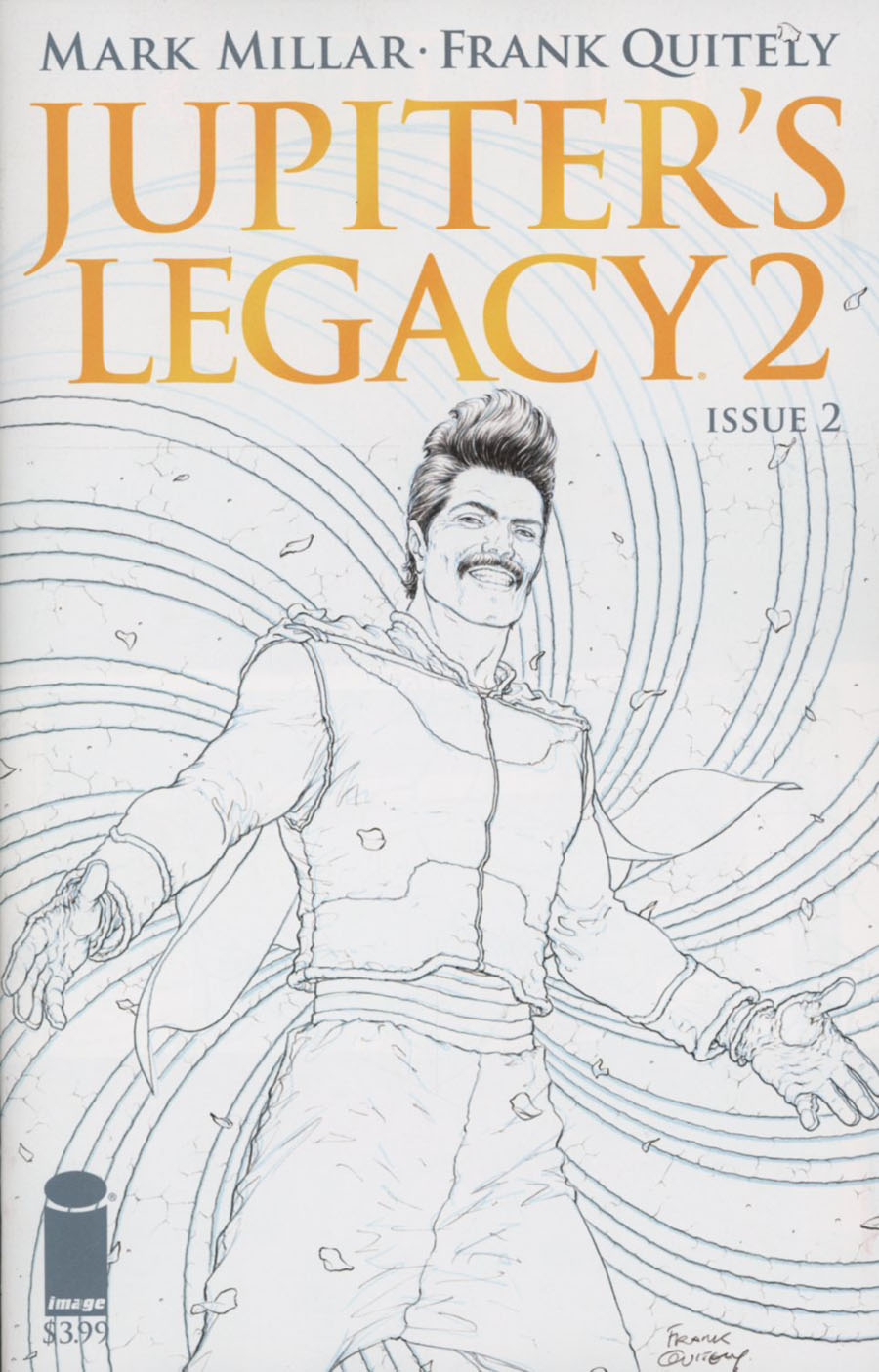 Jupiters Legacy Vol 2 #2 Cover C Incentive Frank Quitely Sketch Cover