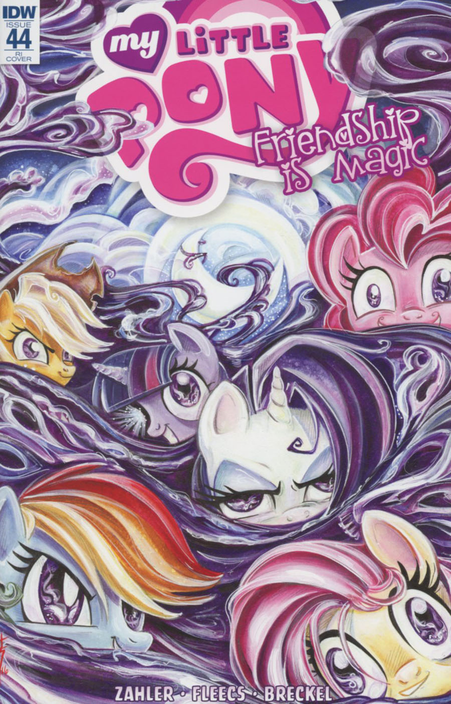 My Little Pony Friendship Is Magic #44 Cover C Incentive Sara Richard Variant Cover