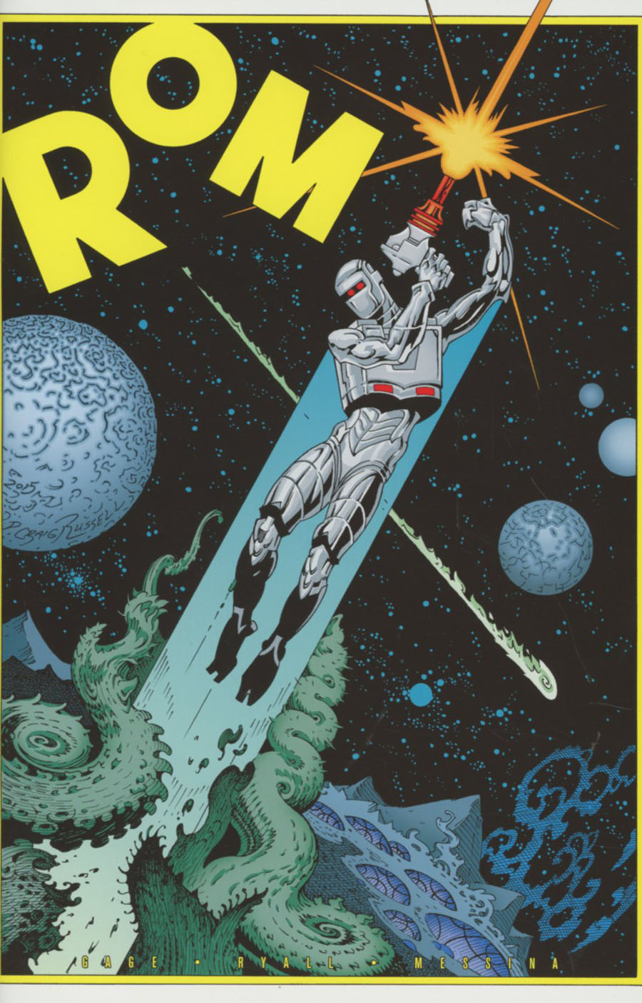 ROM Vol 2 #1 Cover H Incentive P Craig Russell Variant Cover