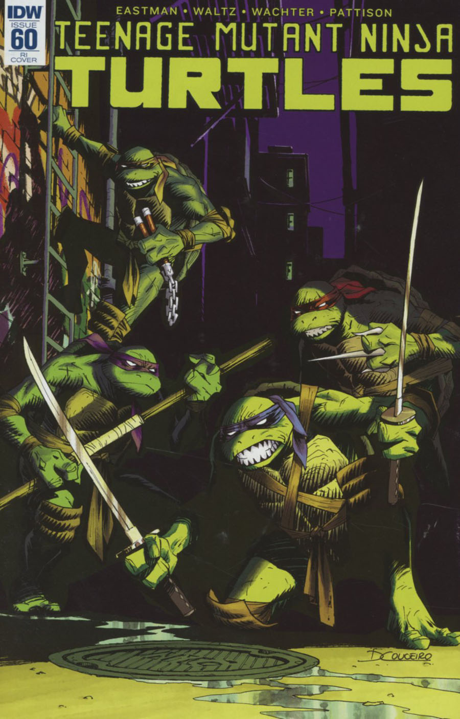 Teenage Mutant Ninja Turtles Vol 5 #60 Cover C Incentive Damian Couceiro Variant Cover