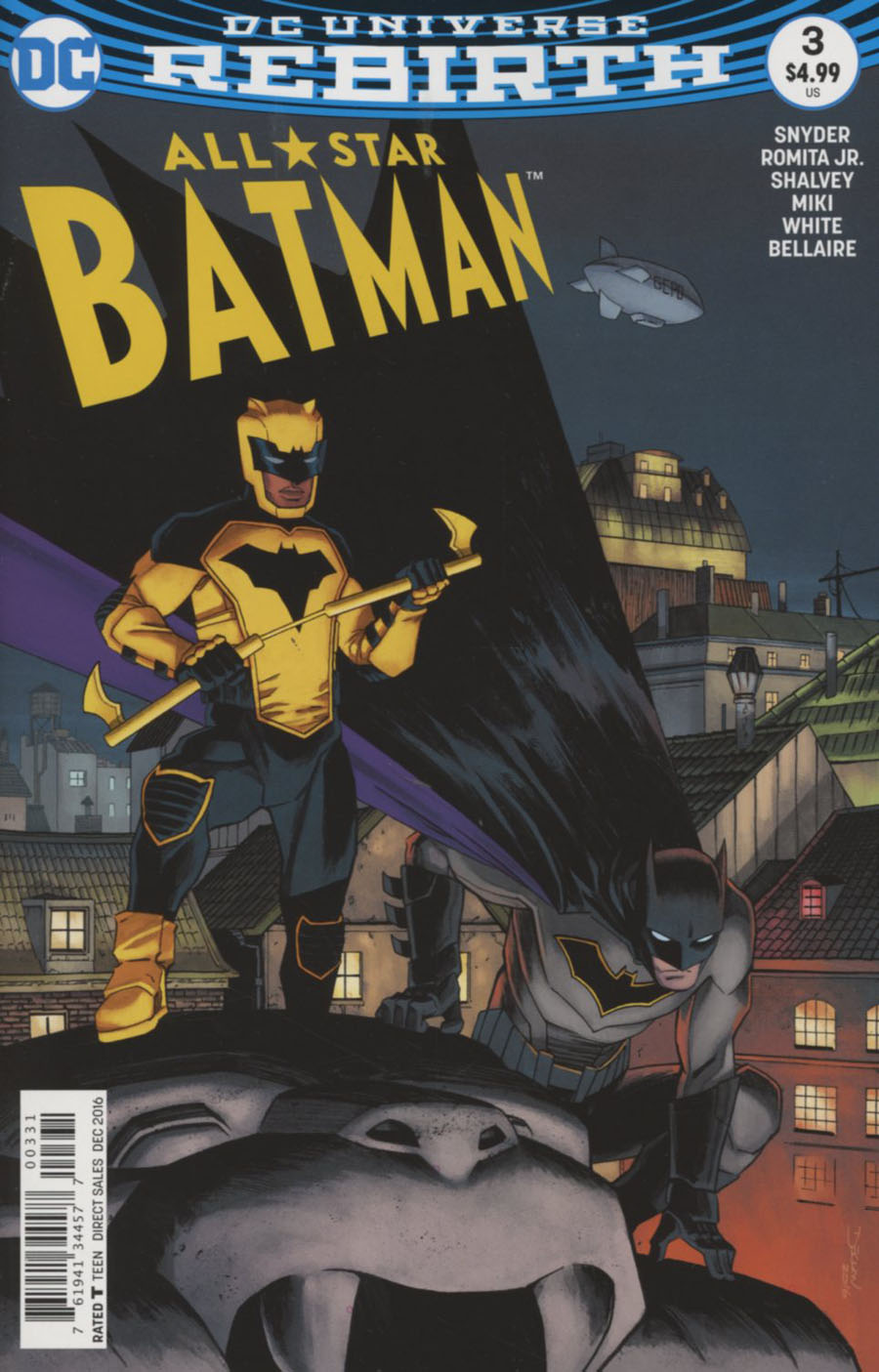 All-Star Batman #3 Cover C Variant Declan Shalvey Cover