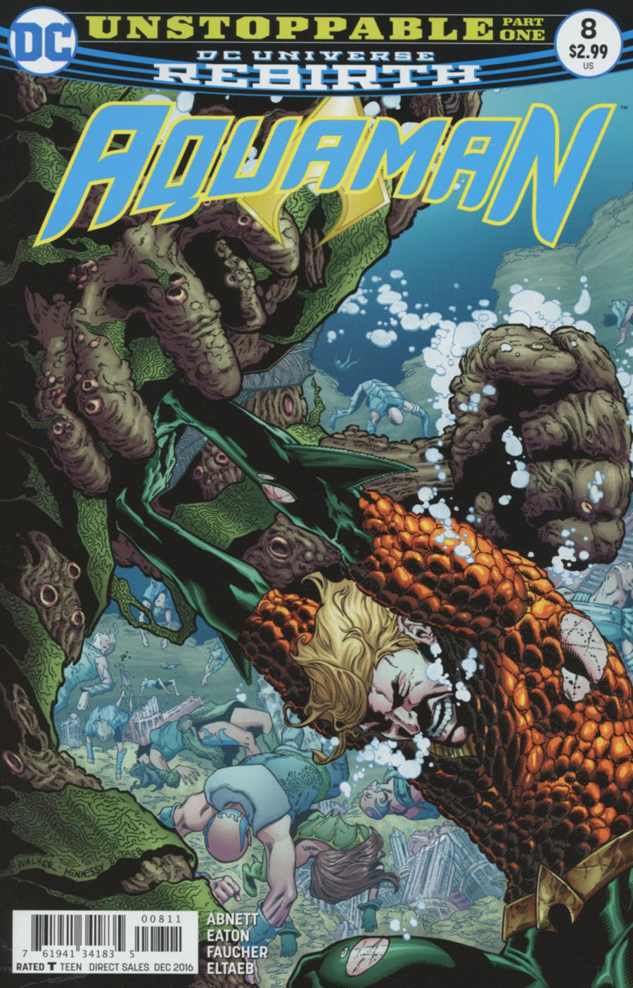 Aquaman Vol 6 #8 Cover A Regular Brad Walker Cover