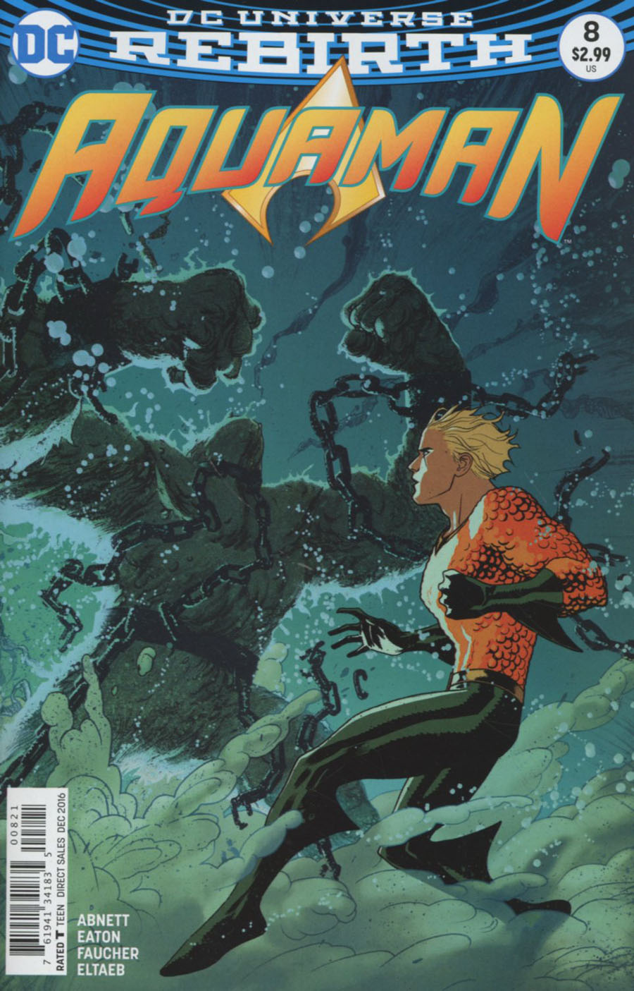Aquaman Vol 6 #8 Cover B Variant Joshua Middleton Cover