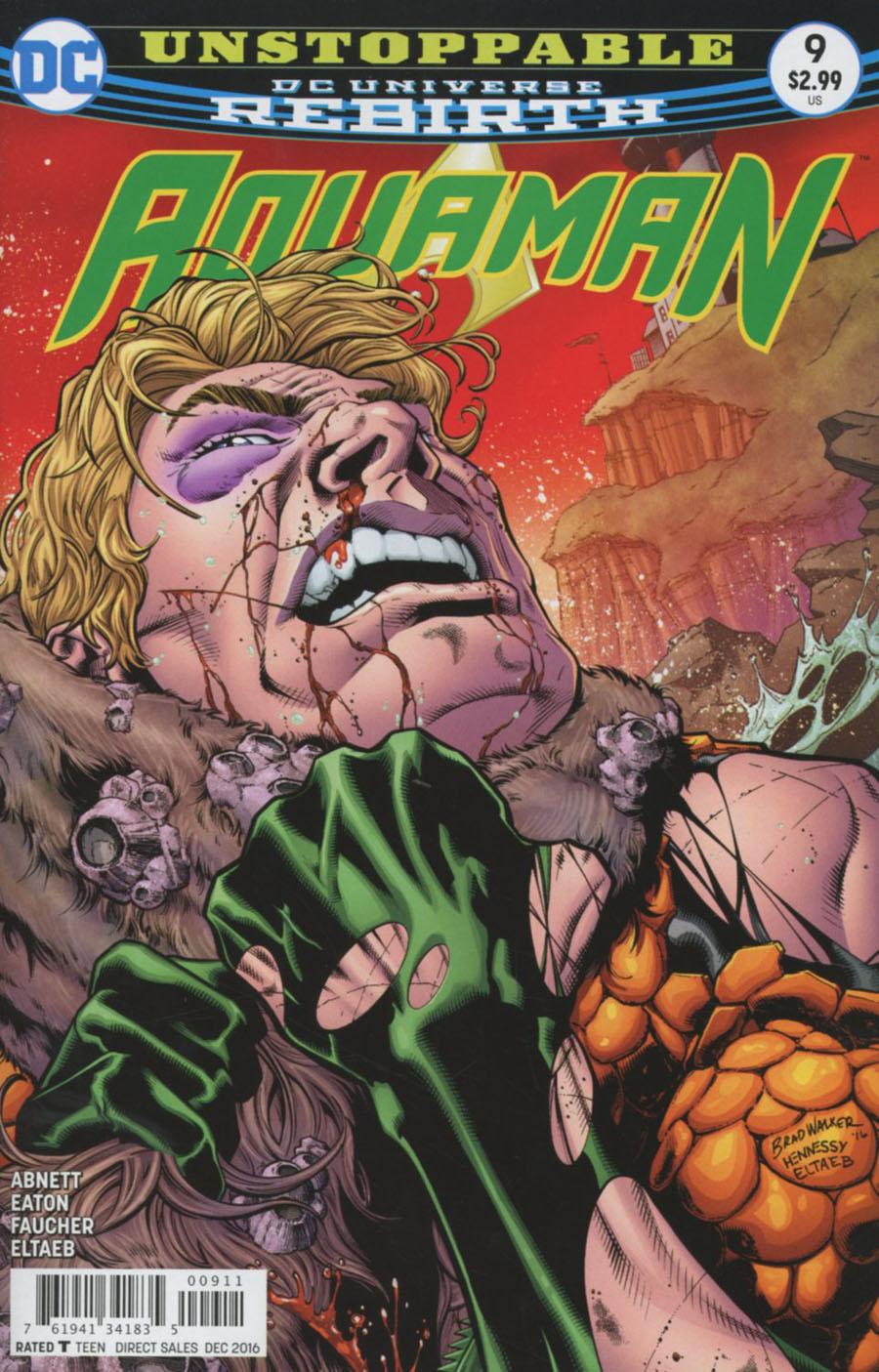 Aquaman Vol 6 #9 Cover A Regular Brad Walker Cover