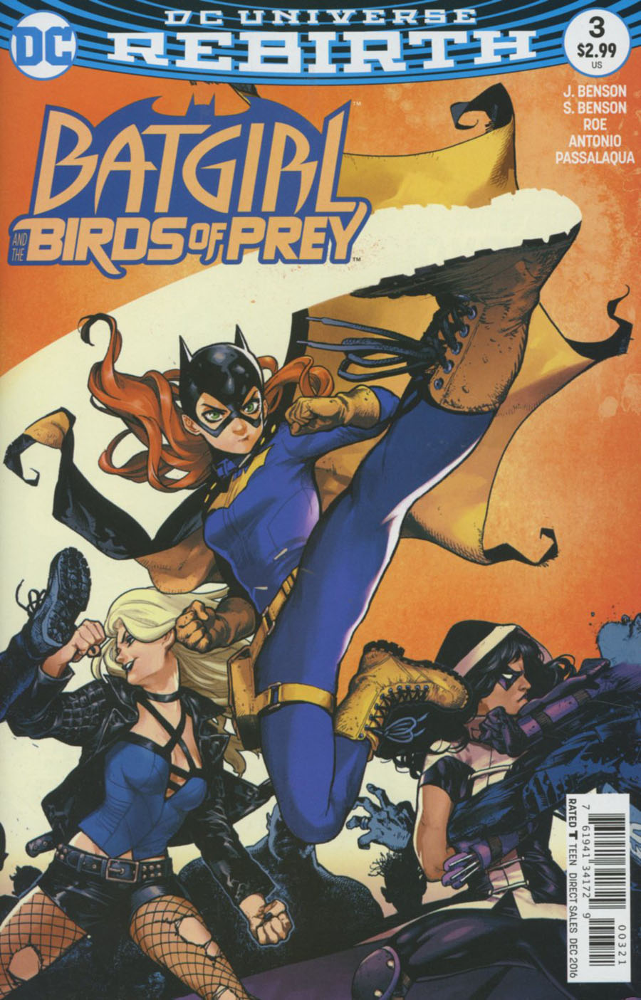 Batgirl And The Birds Of Prey #3 Cover B Variant Kamome Shirahama Cover