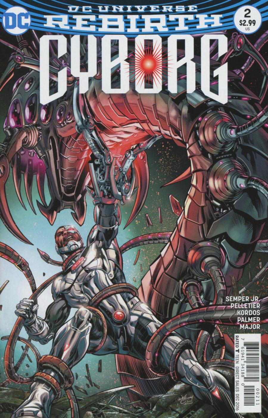Cyborg Vol 2 #2 Cover A Regular Will Conrad Cover