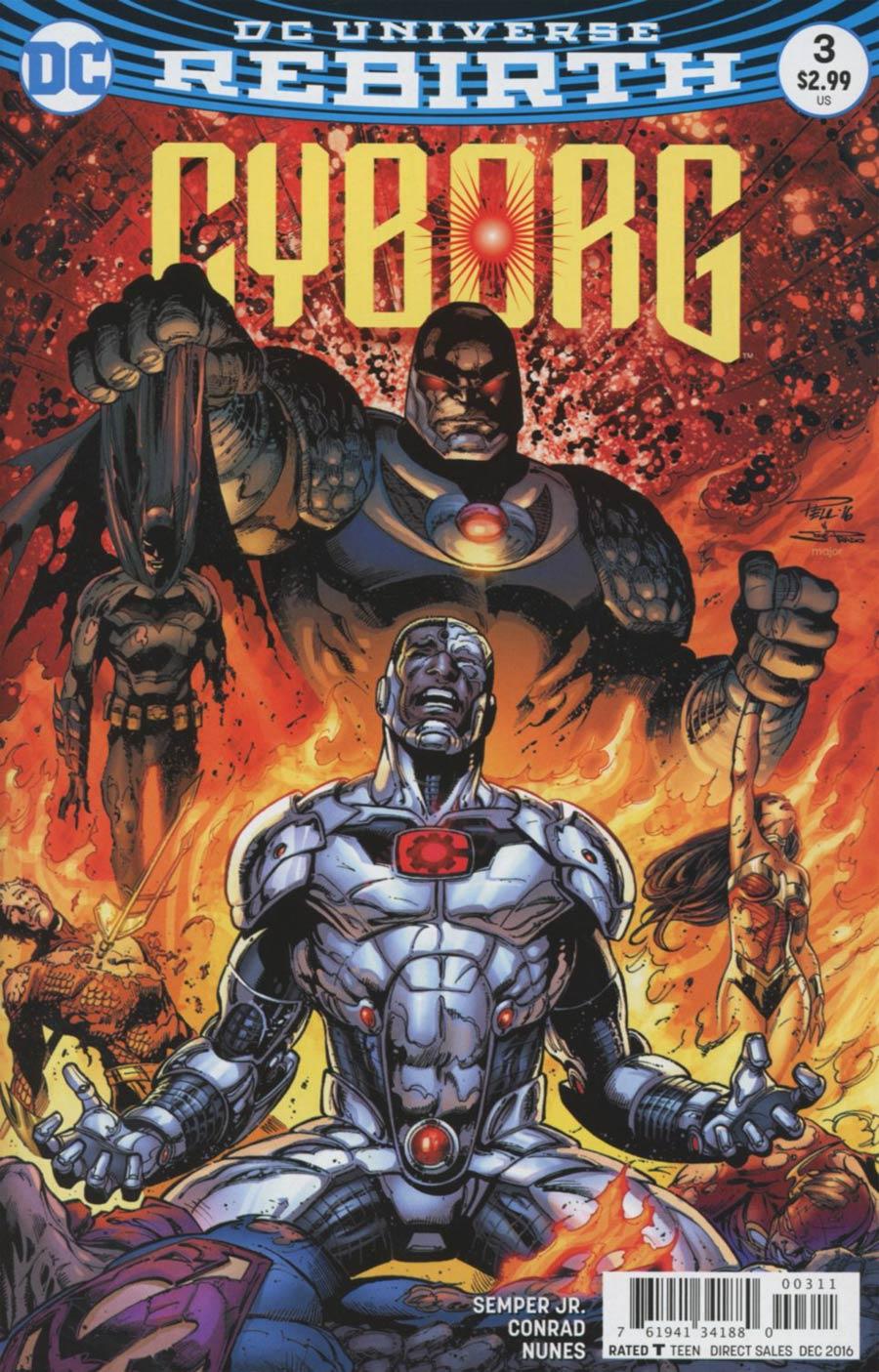 Cyborg Vol 2 #3 Cover A Regular Paul Pelletier Cover