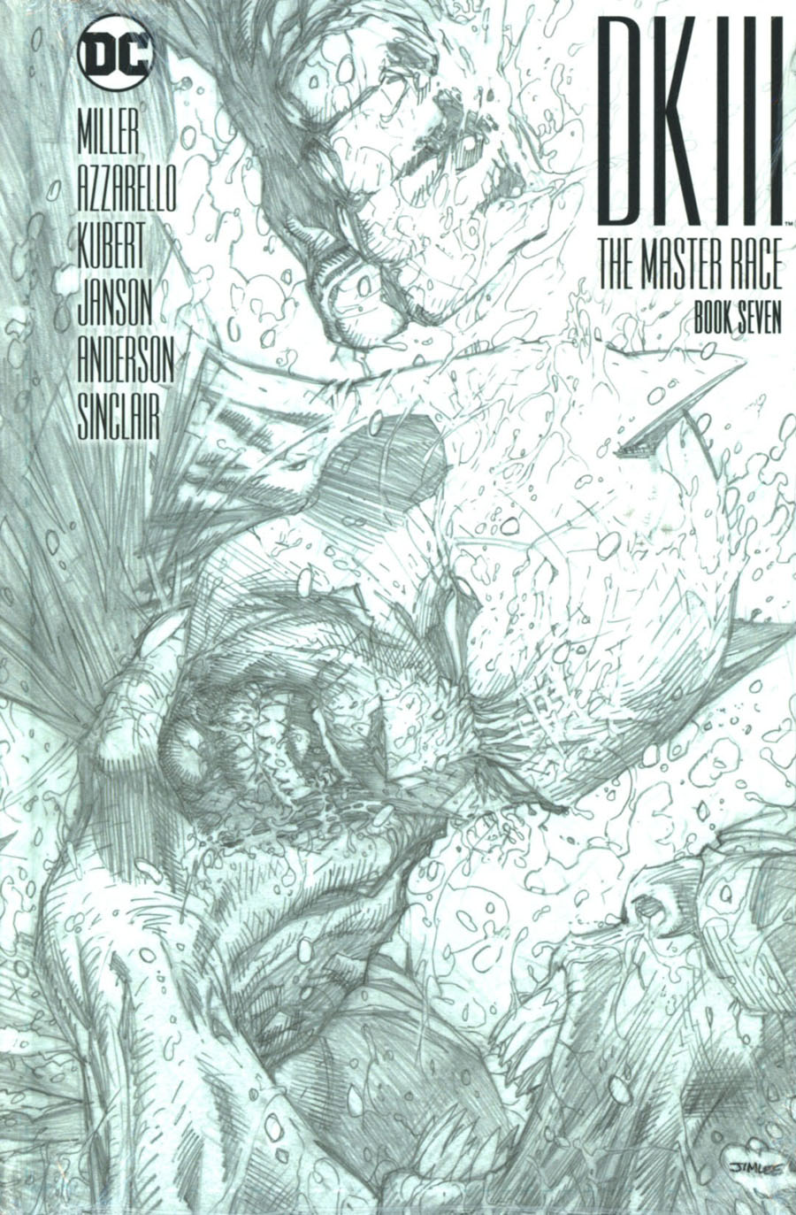 Dark Knight III The Master Race #7 Cover D Collectors Edition HC