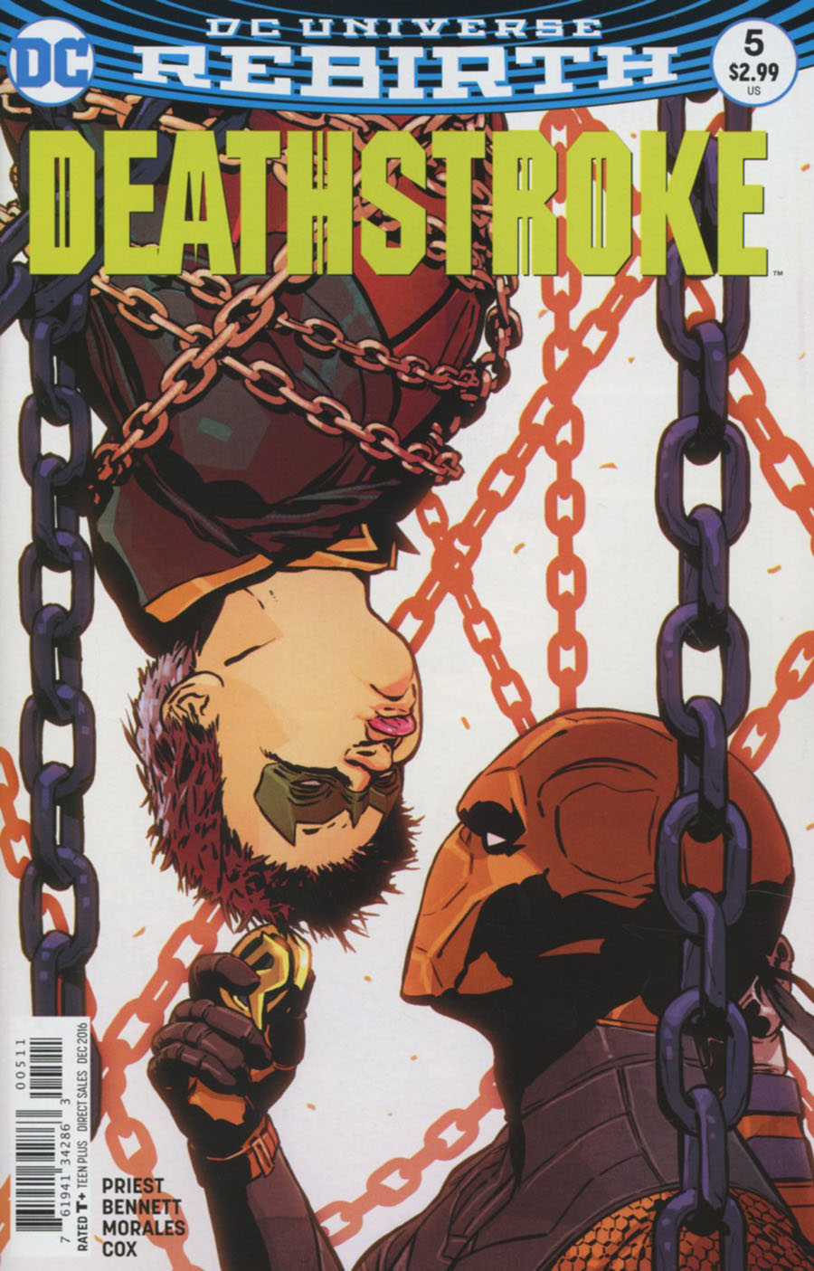 Deathstroke Vol 4 #5 Cover A Regular Aco Cover