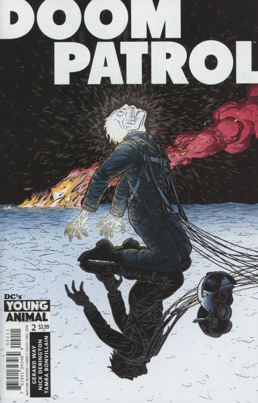 Doom Patrol Vol 6 #2 Cover A Regular Nick Derington Cover