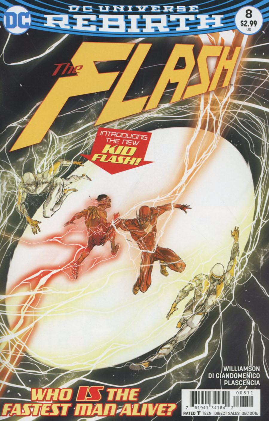 Flash Vol 5 #8 Cover A Regular Carmine Di Giandomenico Cover