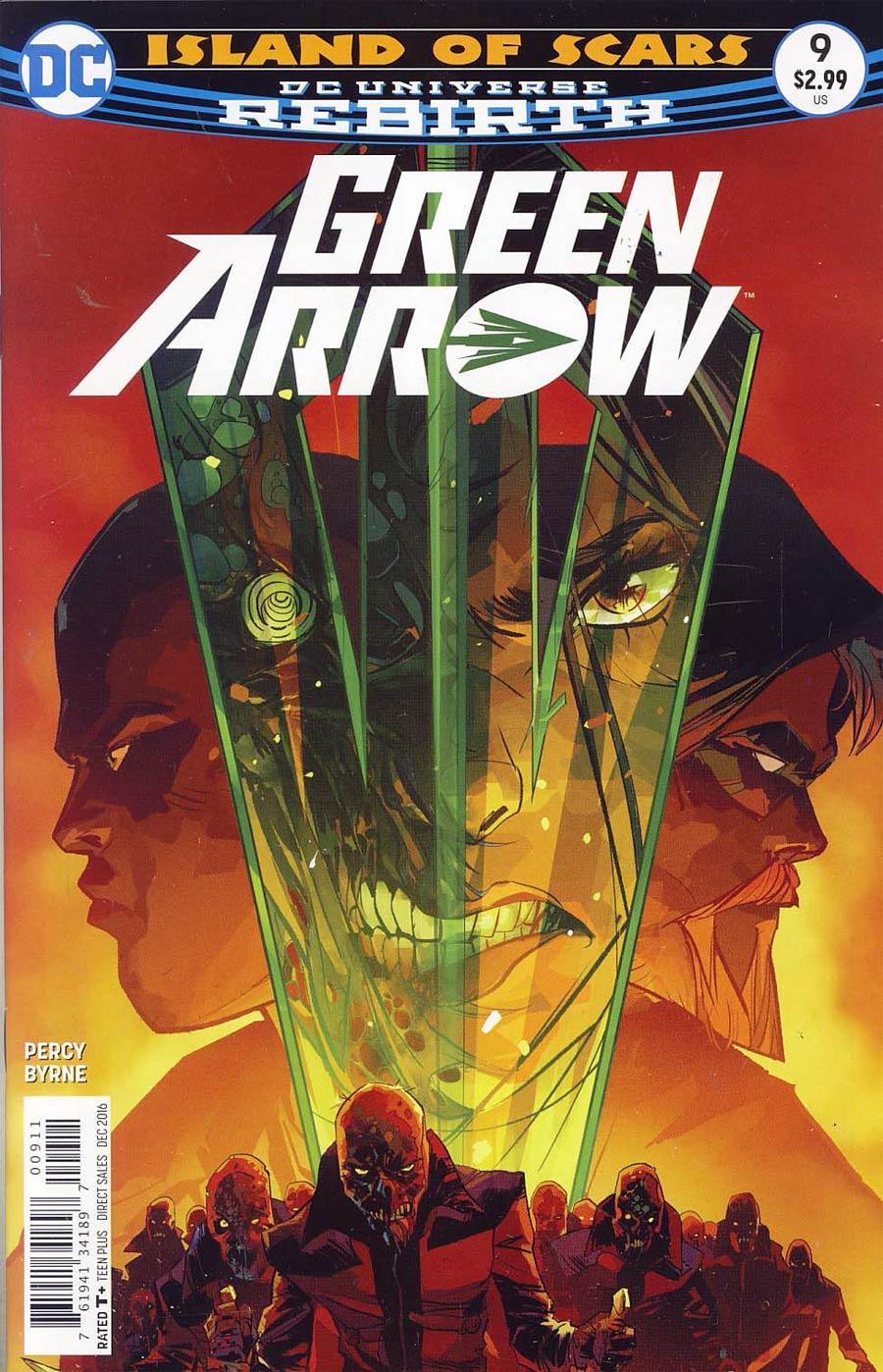 Green Arrow Vol 7 #9 Cover A Regular Otto Schmidt Cover