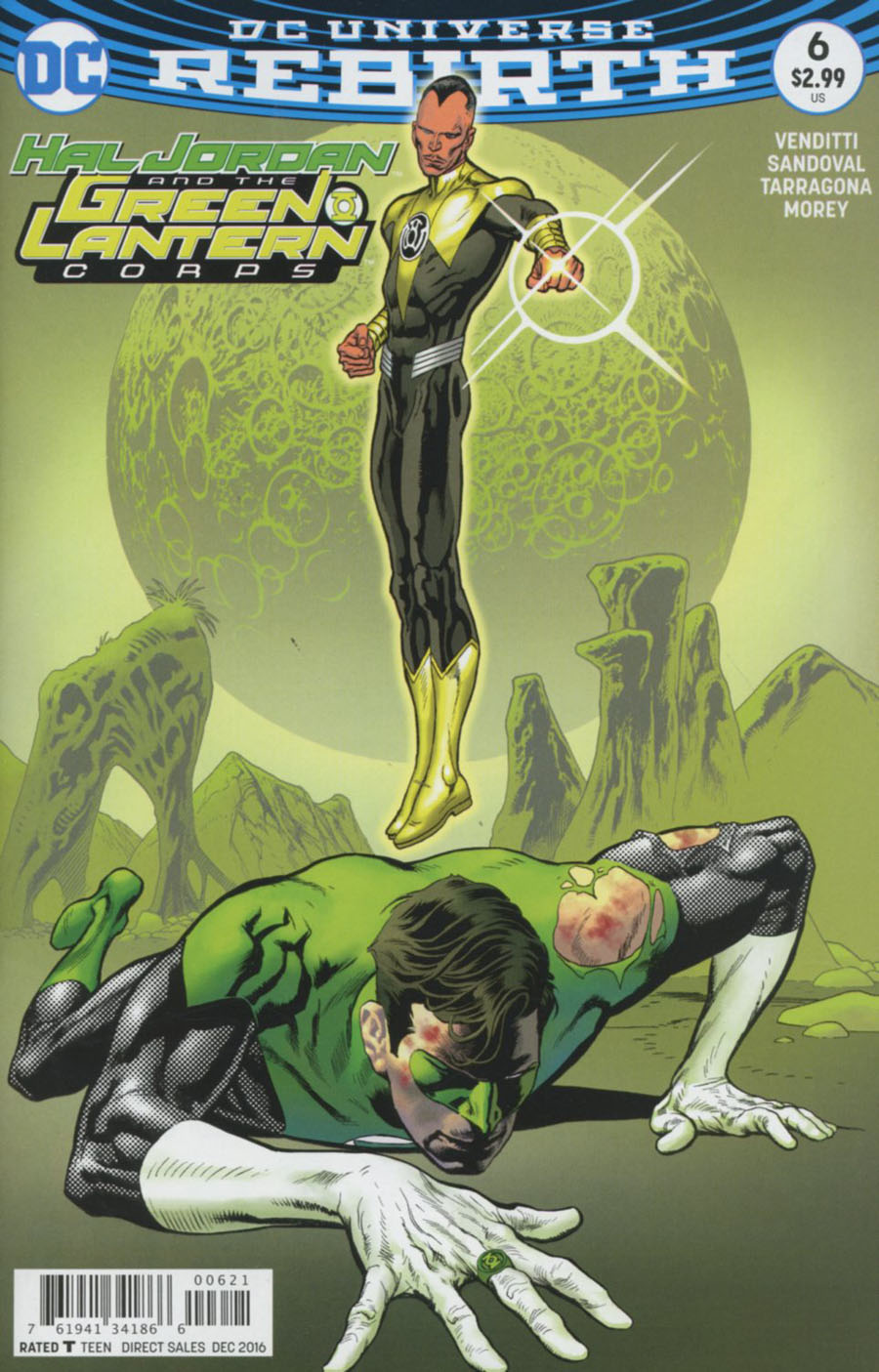 Hal Jordan And The Green Lantern Corps #6 Cover B Variant Kevin Nowlan Cover