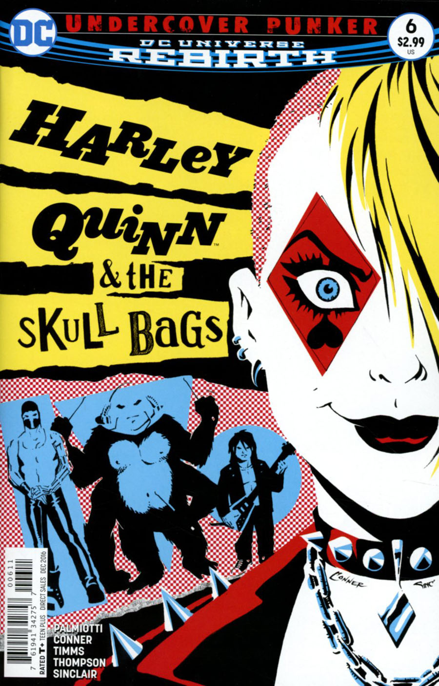 Harley Quinn Vol 3 #6 Cover A Regular Amanda Conner Cover