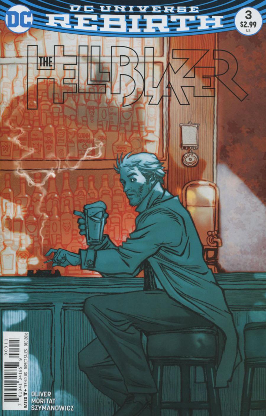 Hellblazer Vol 2 #3 Cover A Regular Moritat Cover