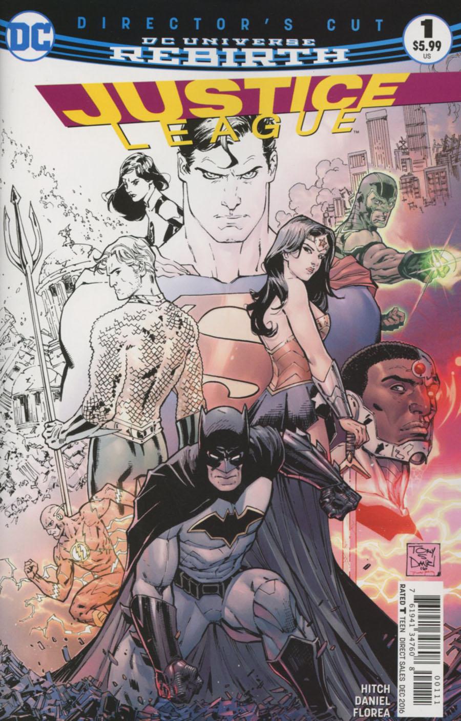 Justice League Vol 3 #1 Directors Cut