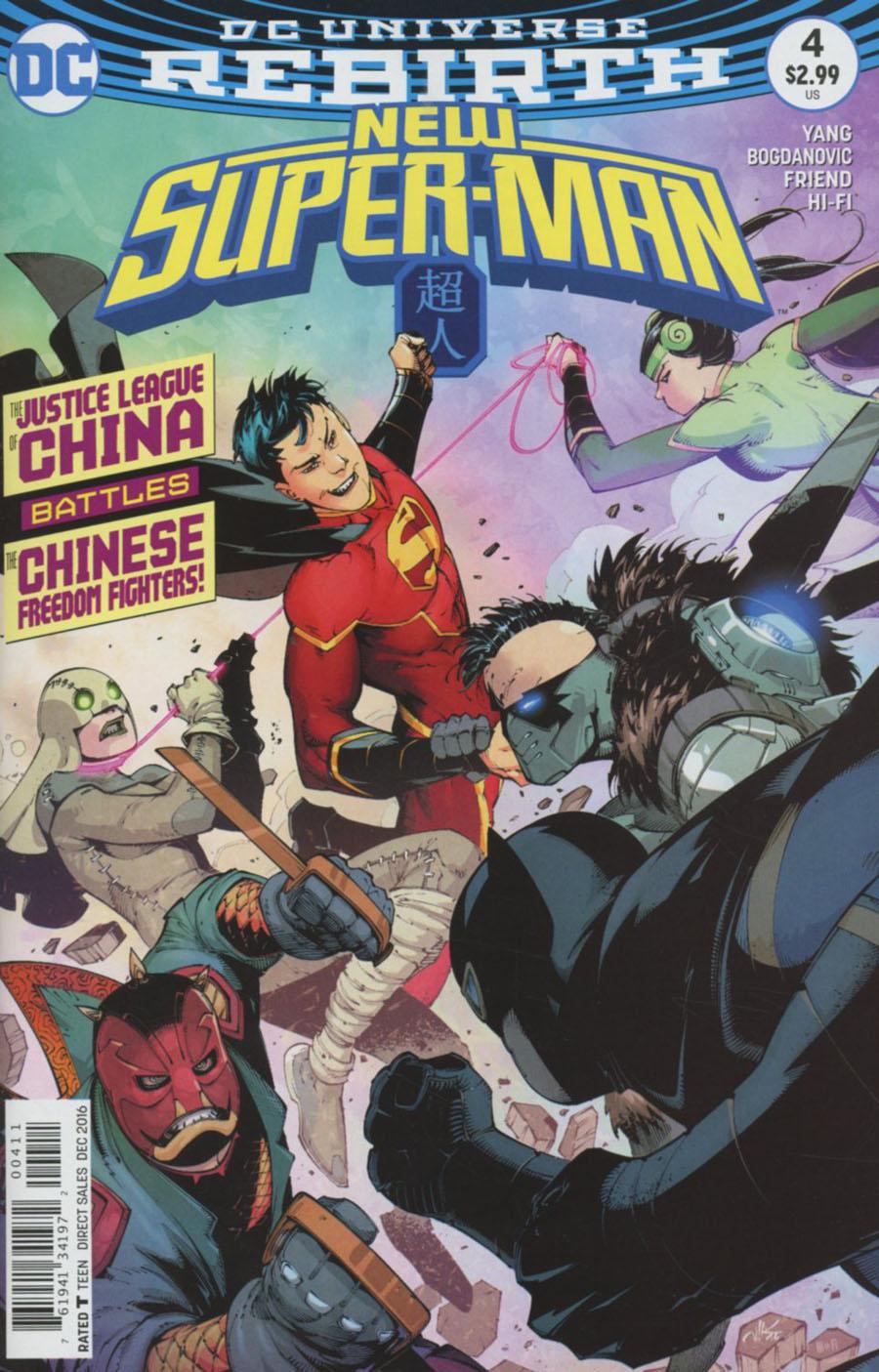 New Super-Man #4 Cover A Regular Viktor Bogdanovic & Richard Friend Cover