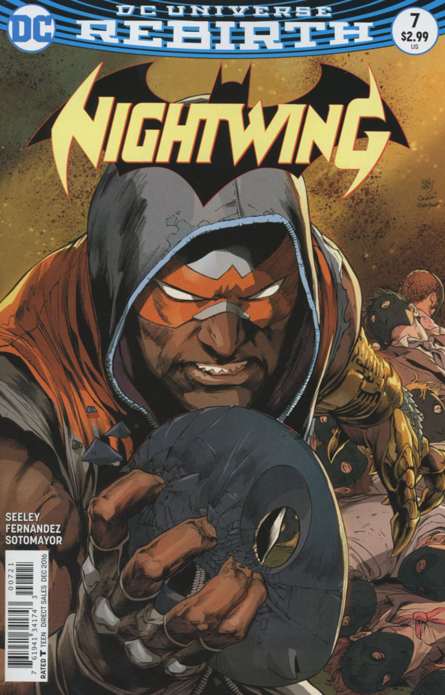 Nightwing Vol 4 #7 Cover B Variant Ivan Reis Cover