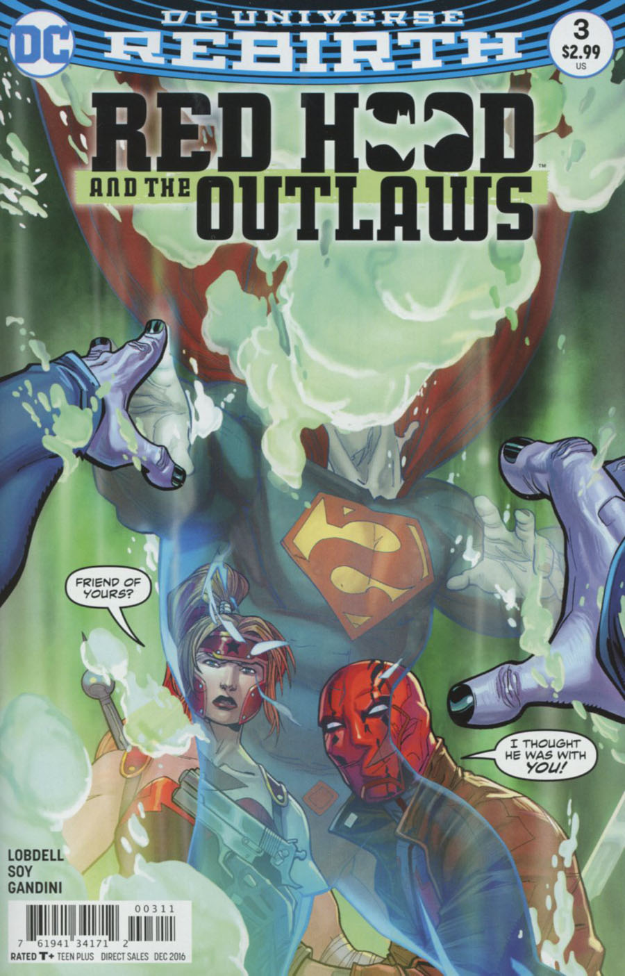 Red Hood And The Outlaws Vol 2 #3 Cover A Regular Giuseppe Camuncoli & Cam Smith Cover
