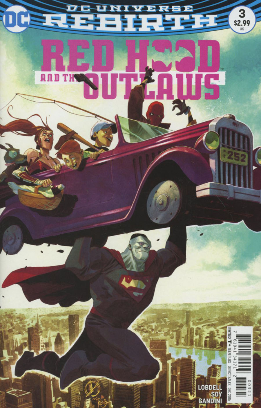 Red Hood And The Outlaws Vol 2 #3 Cover B Variant Matteo Scalera Cover