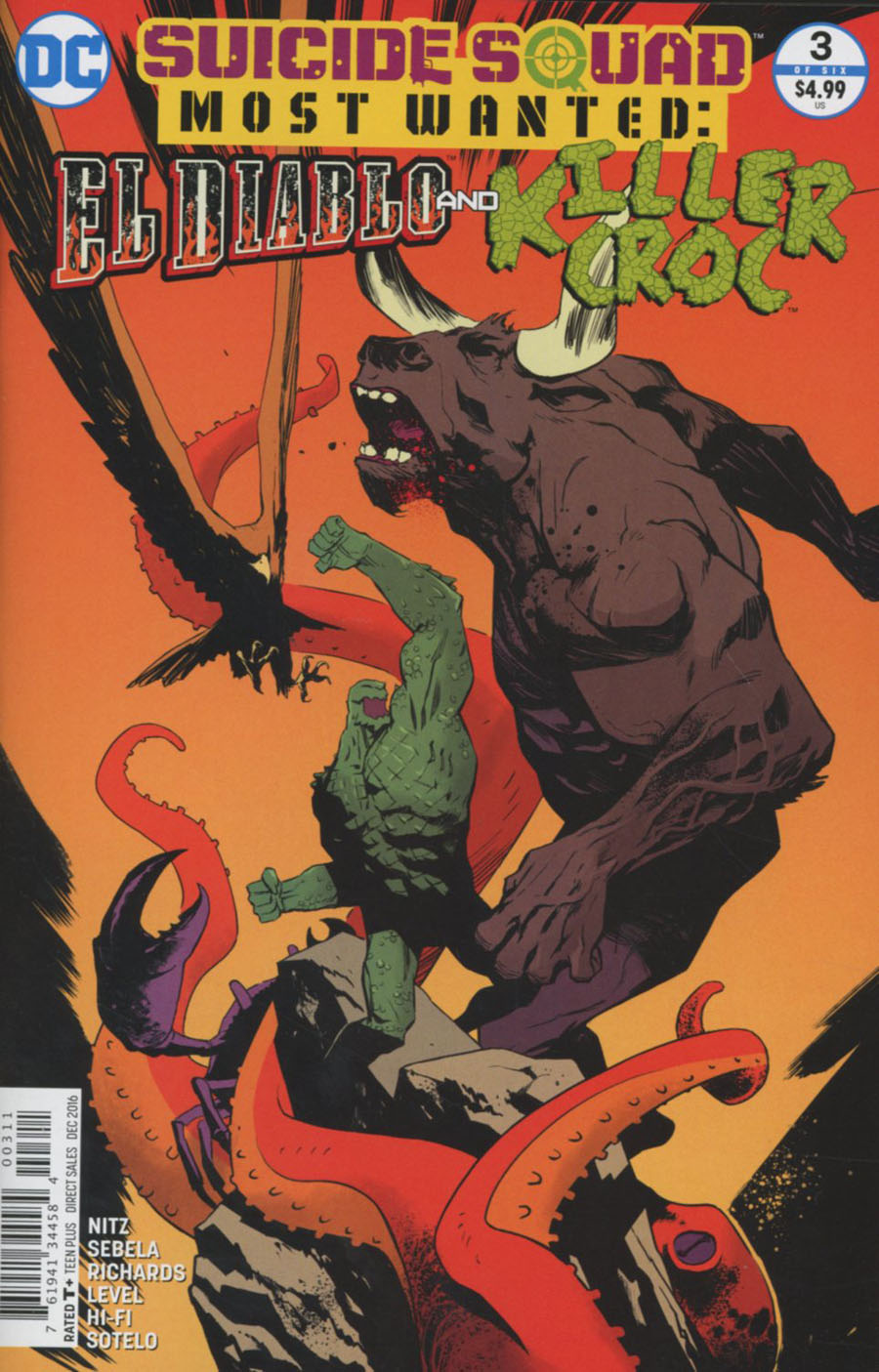 Suicide Squad Most Wanted El Diablo & Killer Croc #3