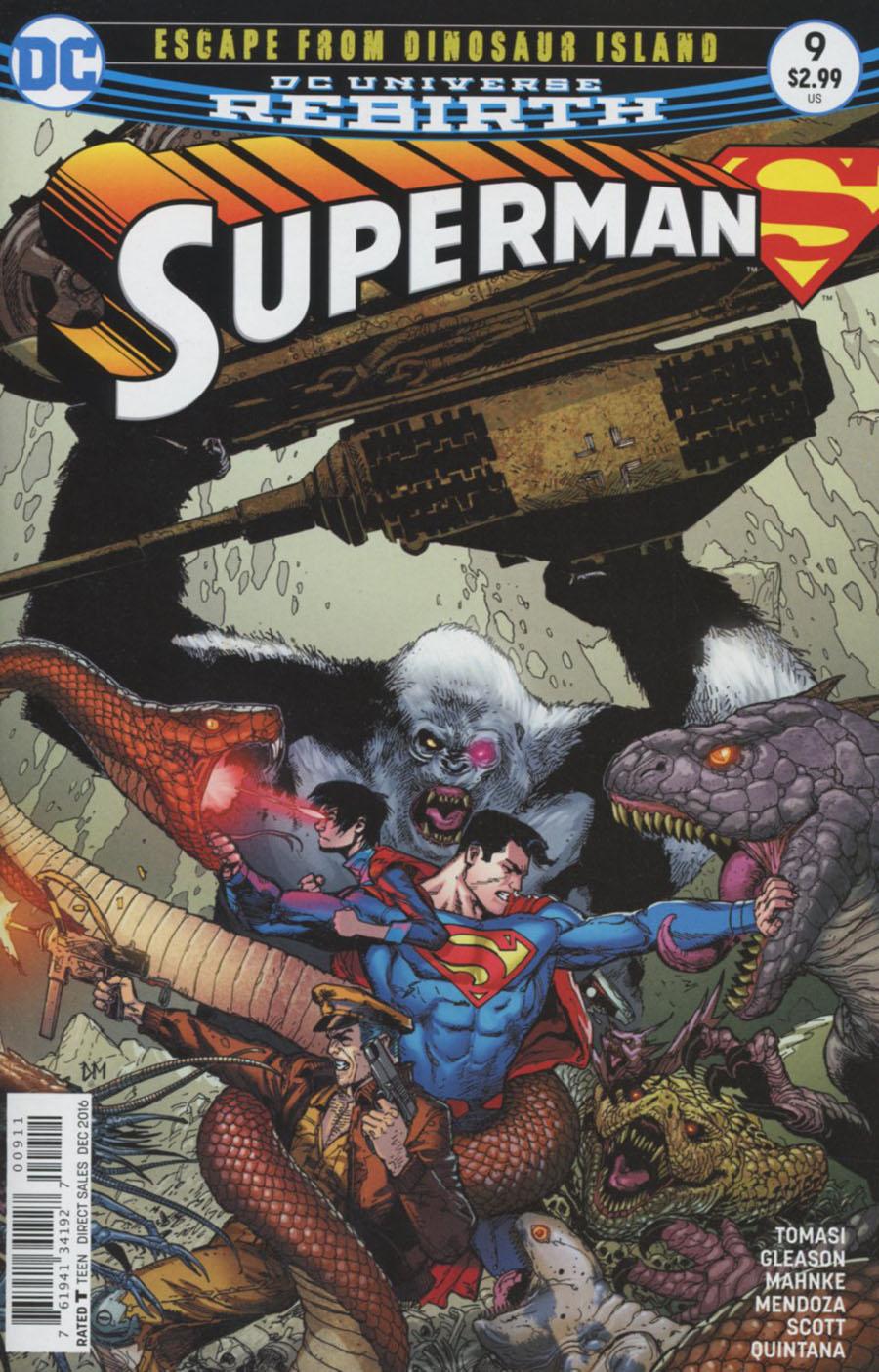 Superman Vol 5 #9 Cover A Regular Doug Mahnke Cover