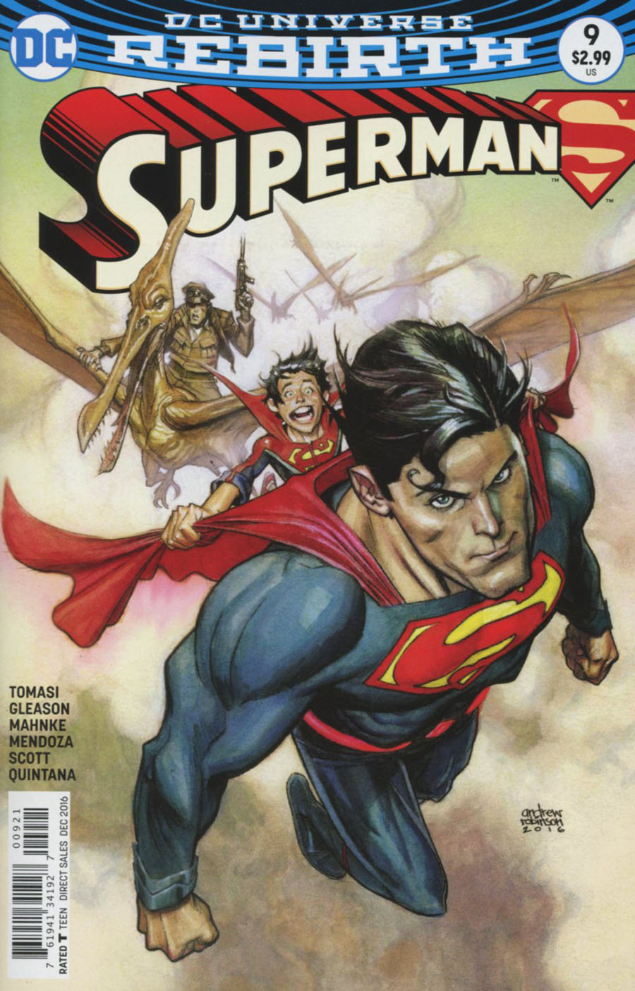 Superman Vol 5 #9 Cover B Variant Andrew Robinson Cover