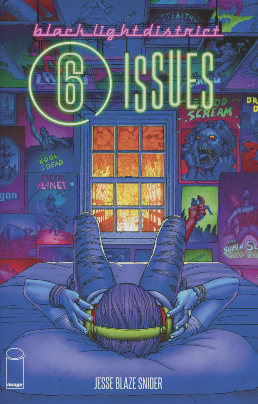 Black Light District 6 Issues One Shot