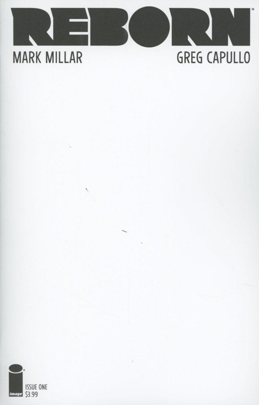 Reborn #1 Cover G Variant Blank Cover
