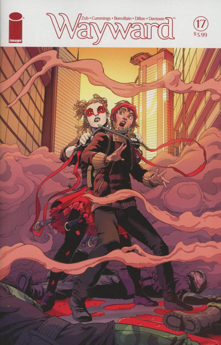 Wayward #17 Cover A Steven Cummings & Tamra Bonvillain