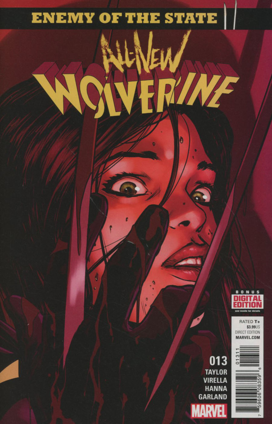 All-New Wolverine #13 Cover A Regular David Lopez Cover