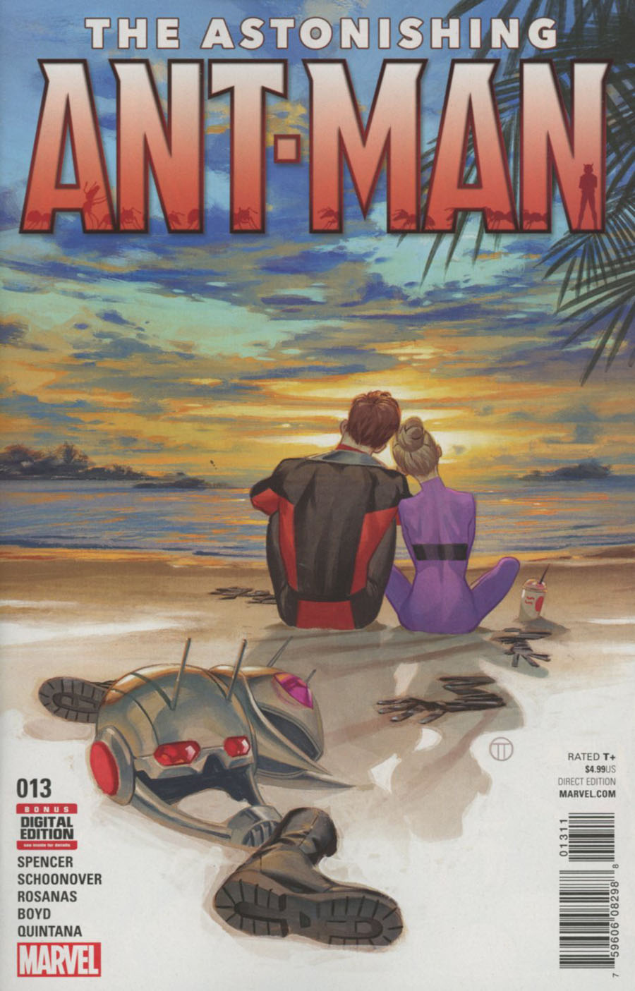 Astonishing Ant-Man #13 Cover A Regular Julian Totino Tedesco Cover
