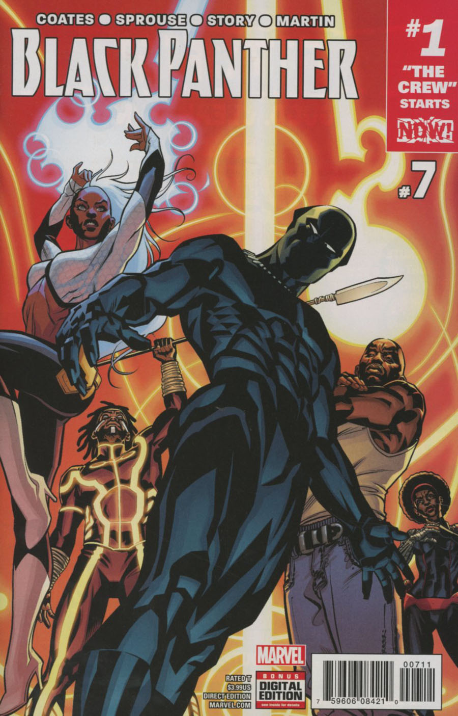 Black Panther Vol 6 #7 Cover A 1st Ptg Regular Brian Stelfreeze Cover (Marvel Now Tie-In)