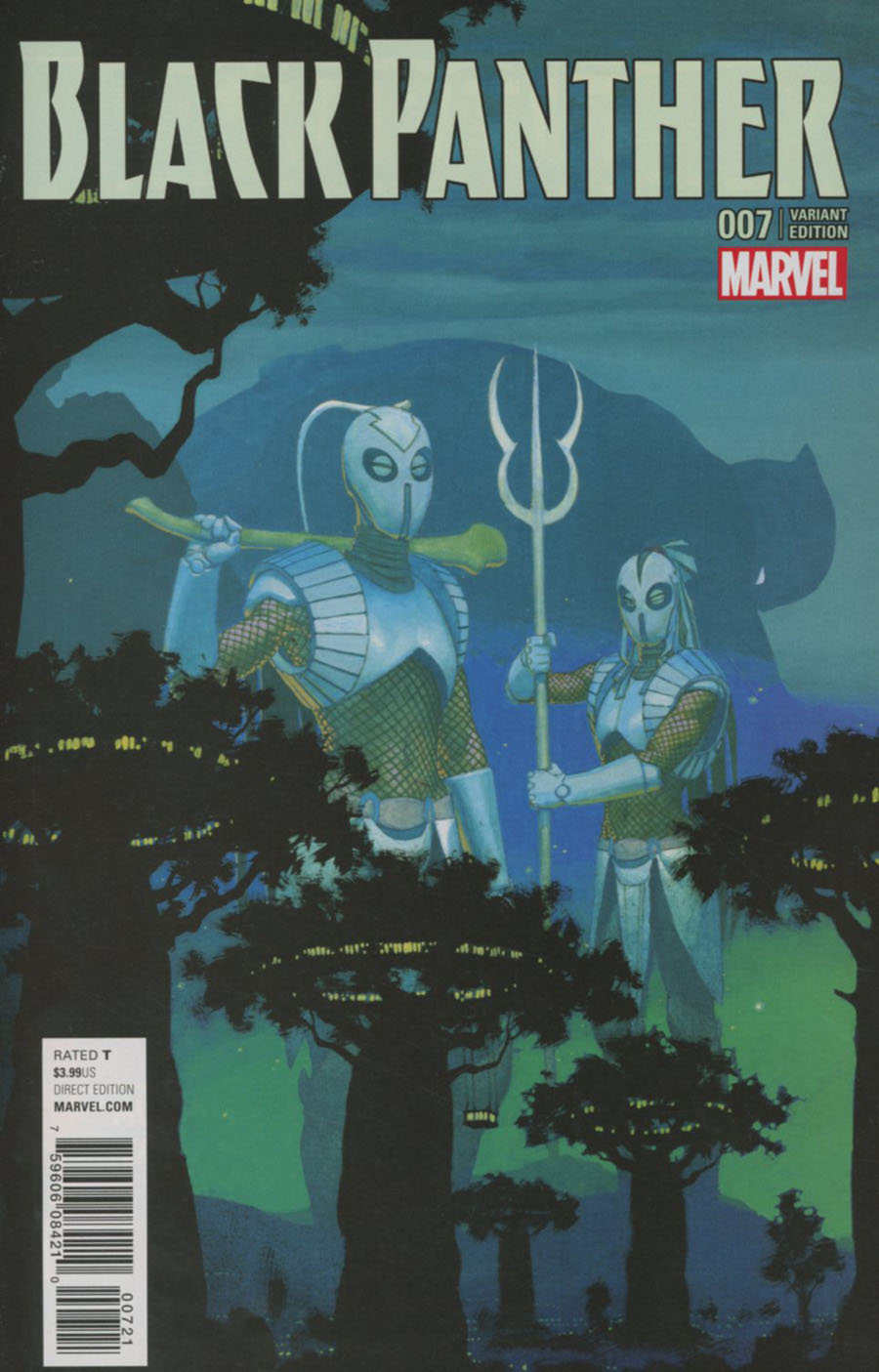 Black Panther Vol 6 #7 Cover B Variant Esad Ribic Connecting C Cover (Marvel Now Tie-In)