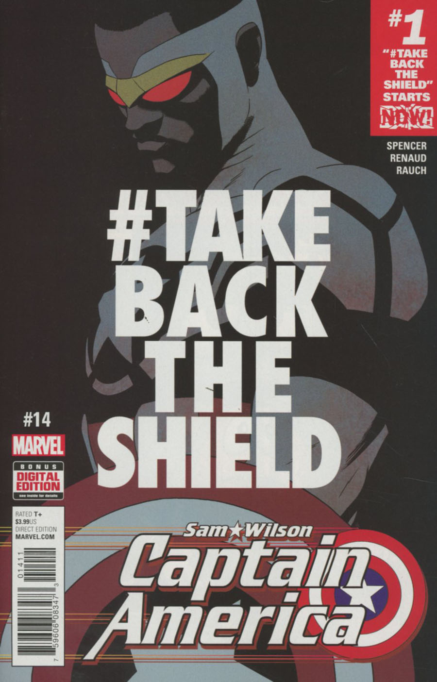 Captain America Sam Wilson #14 Cover A Regular Marcos Martin Cover (Marvel Now Tie-In)