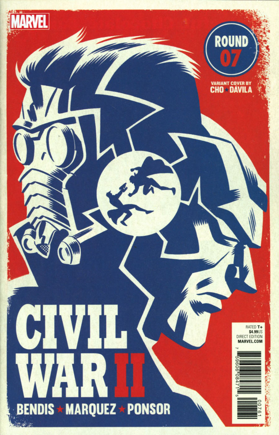 Civil War II #7 Cover B Variant Michael Cho Cover