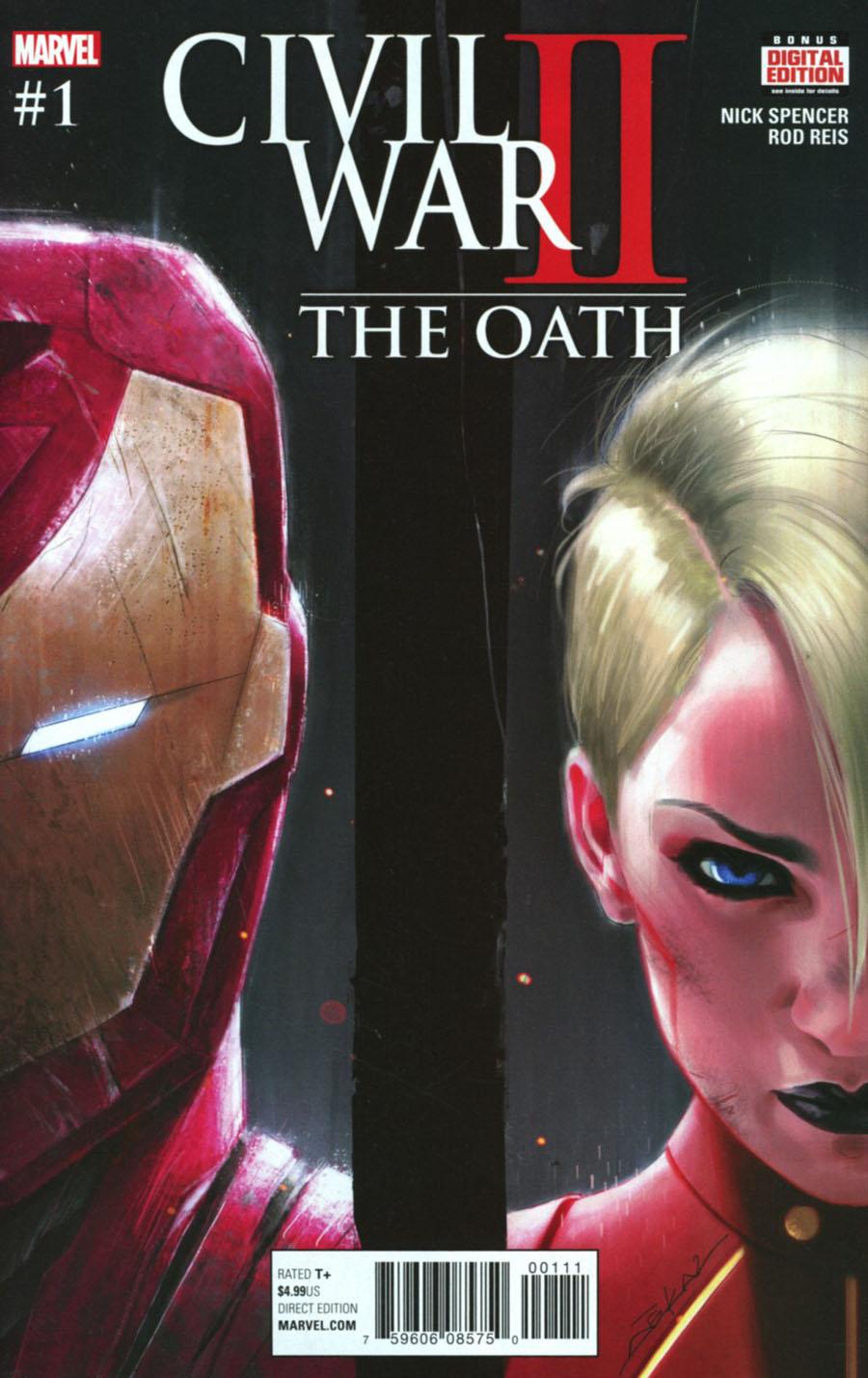Civil War II Oath #1 Cover A Regular Jeff Dekal Cover