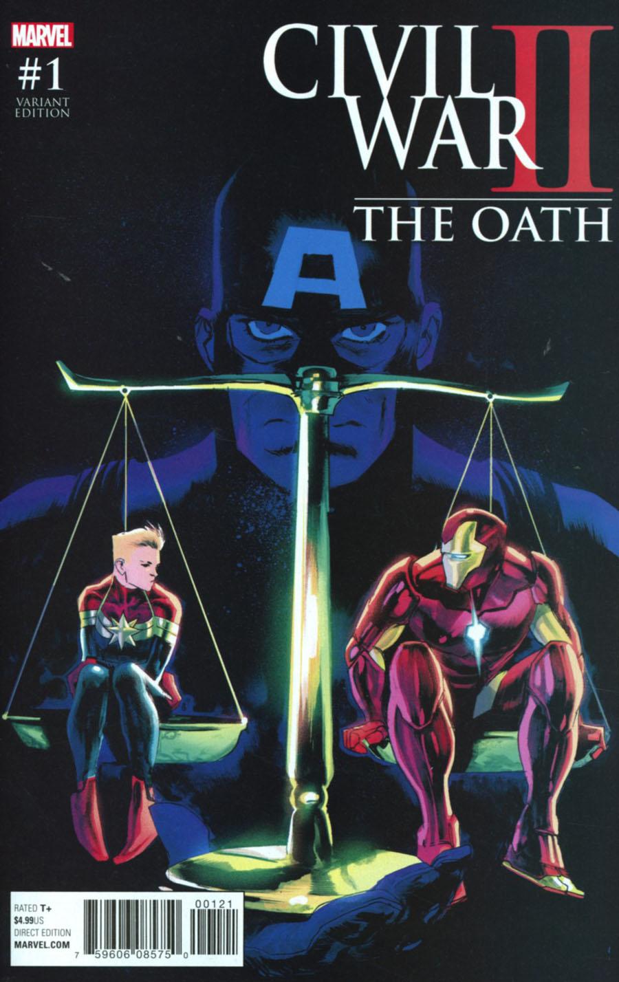 Civil War II Oath #1 Cover B Variant Cover