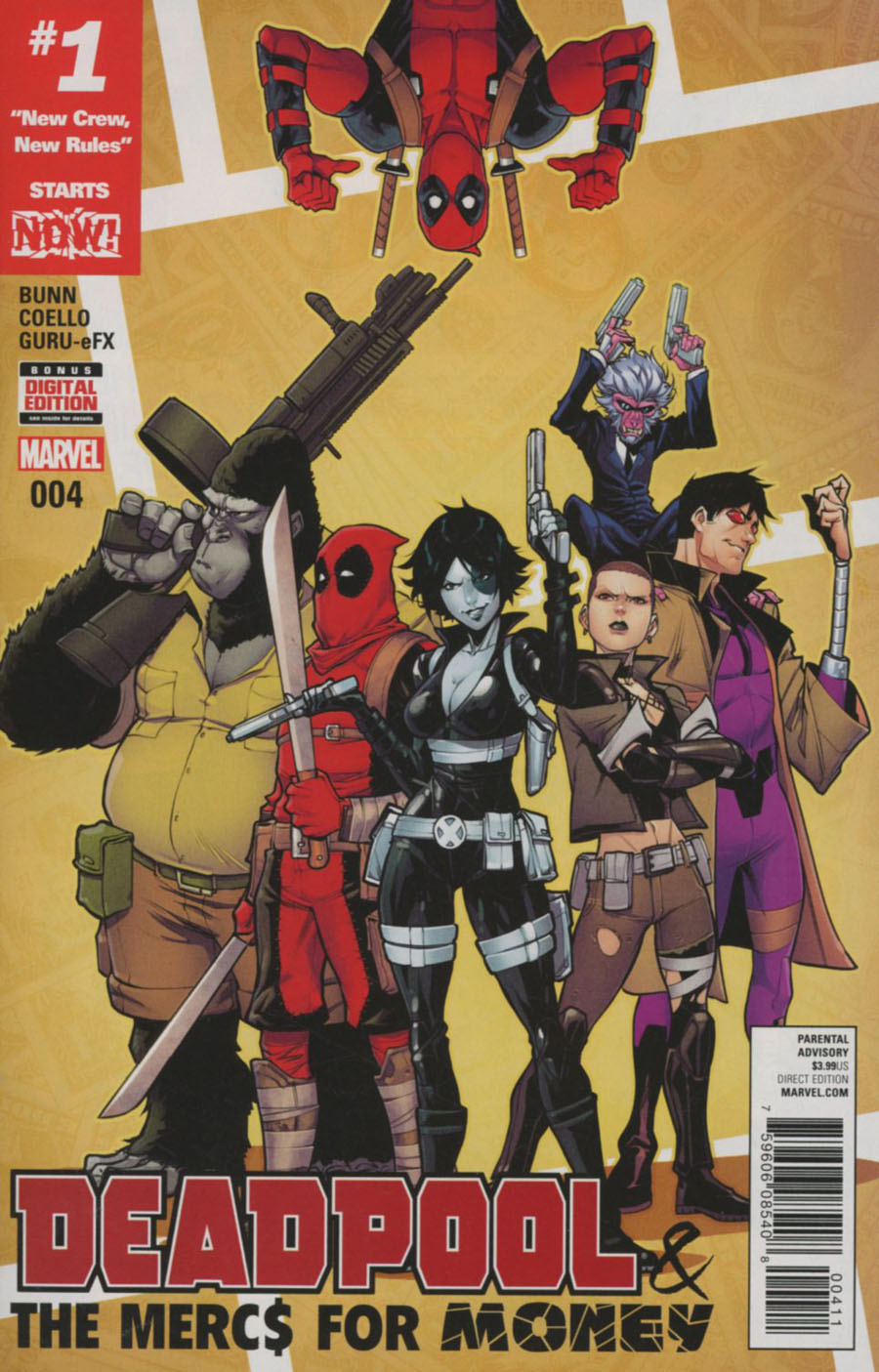 Deadpool And The Mercs For Money Vol 2 #4 Cover A Regular Iban Coello Cover (Marvel Now Tie-In)