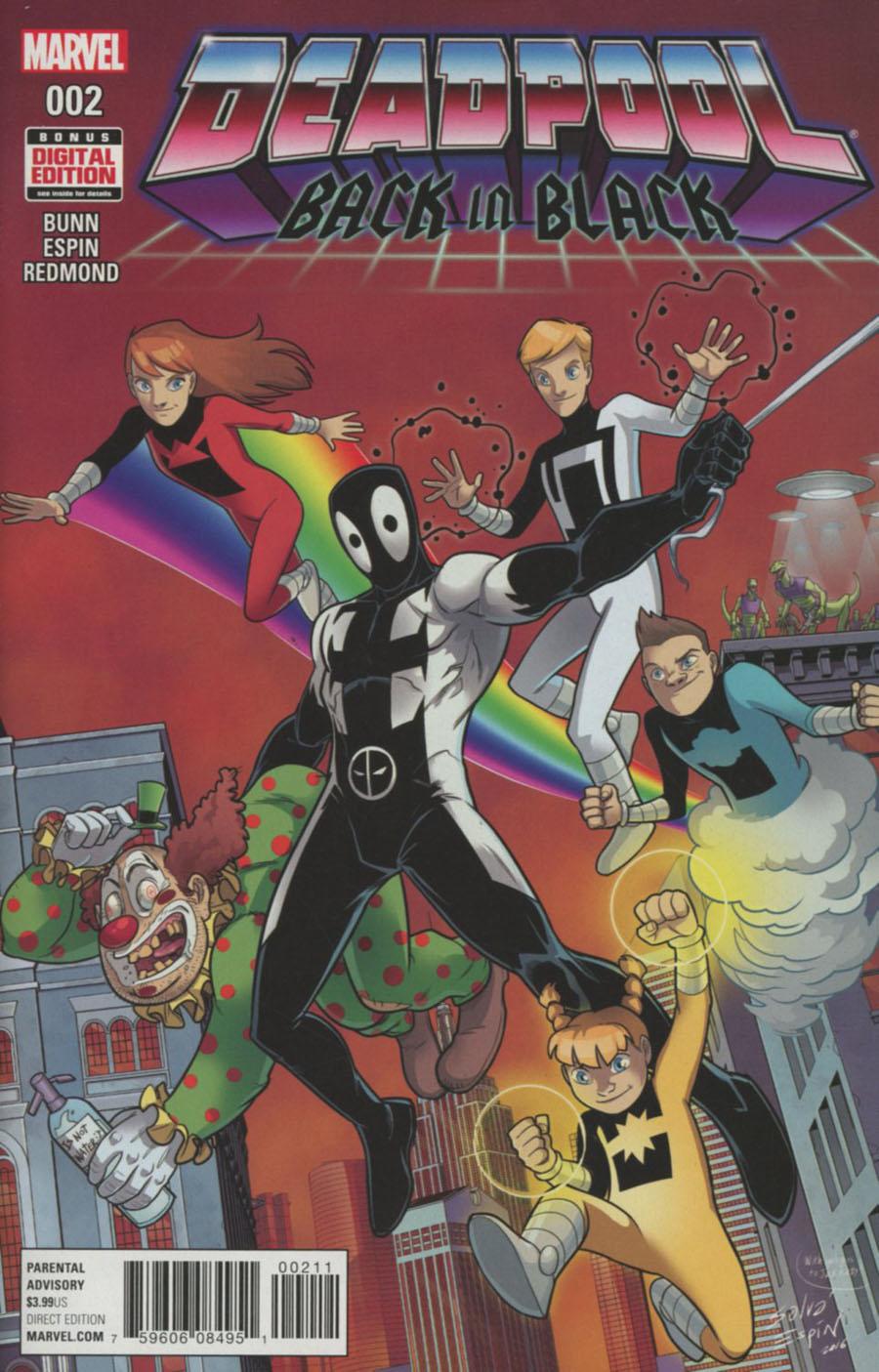 Deadpool Back In Black #2 Cover A Regular Salva Espin Cover